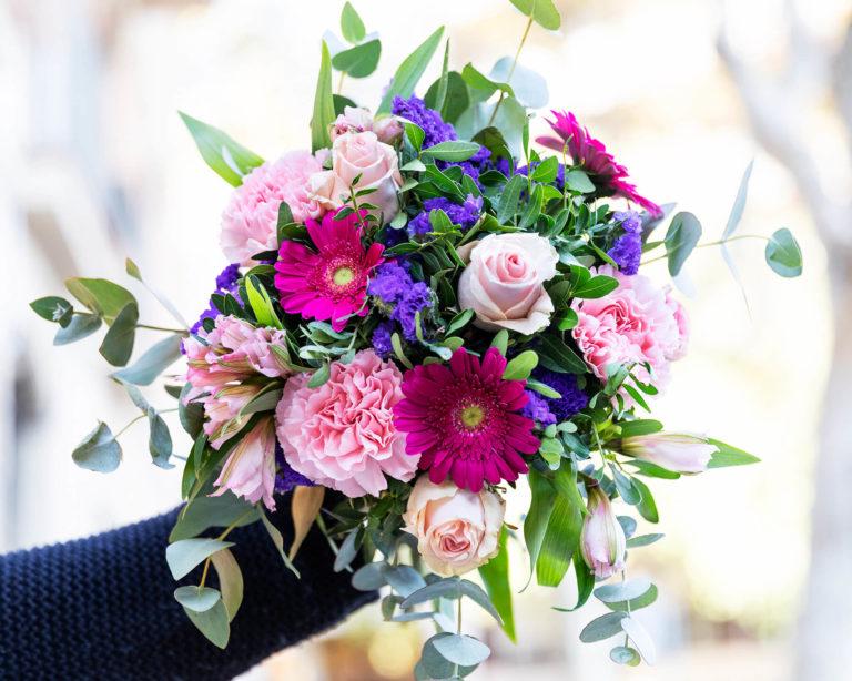 Ramo de flores para los abuelos