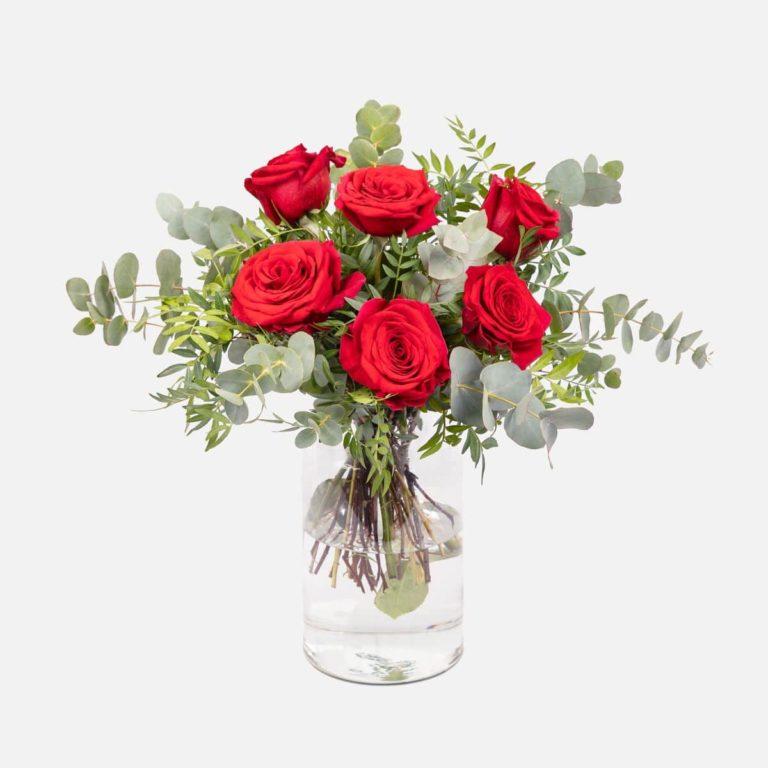 ramo flores rojas red bloom