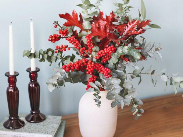 flores navidad
