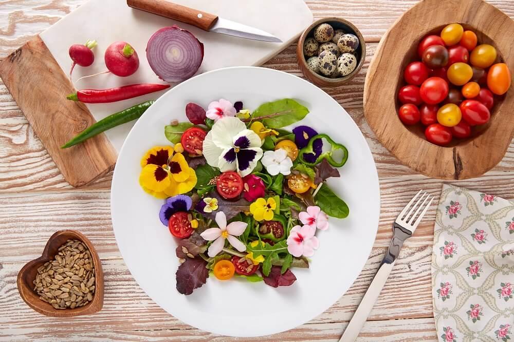 fiori eduli ricette