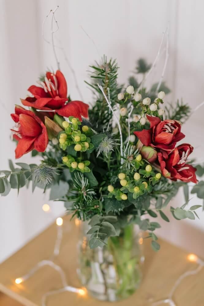 bouquet natalizio rudolph