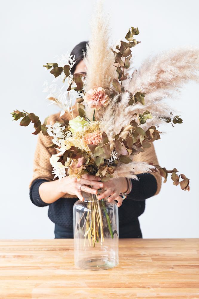 colvin bouquet di pampas