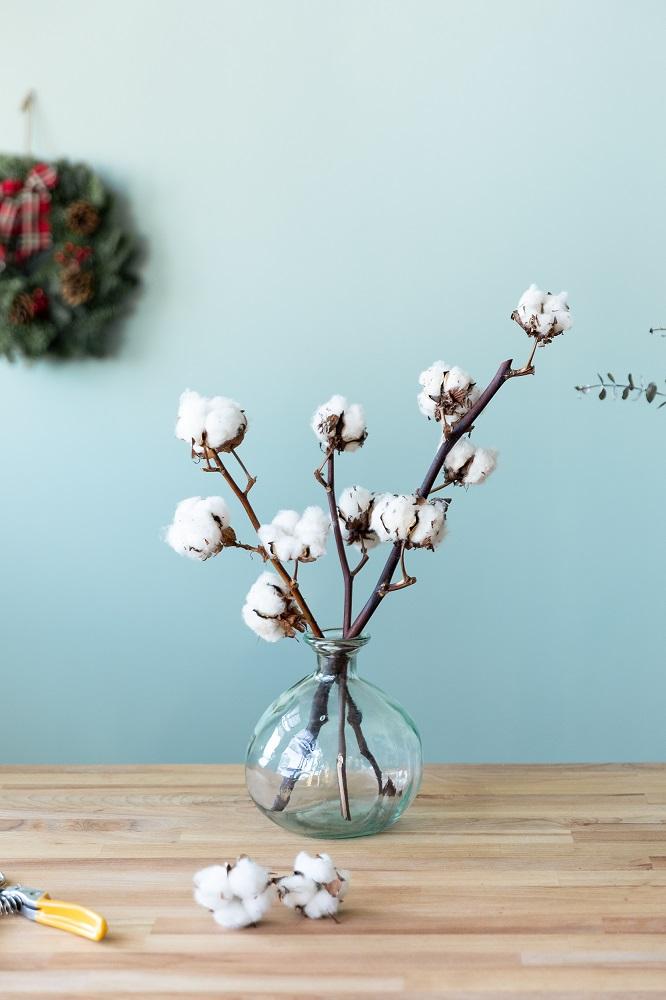 seconda vita al bouquet di Natale 5
