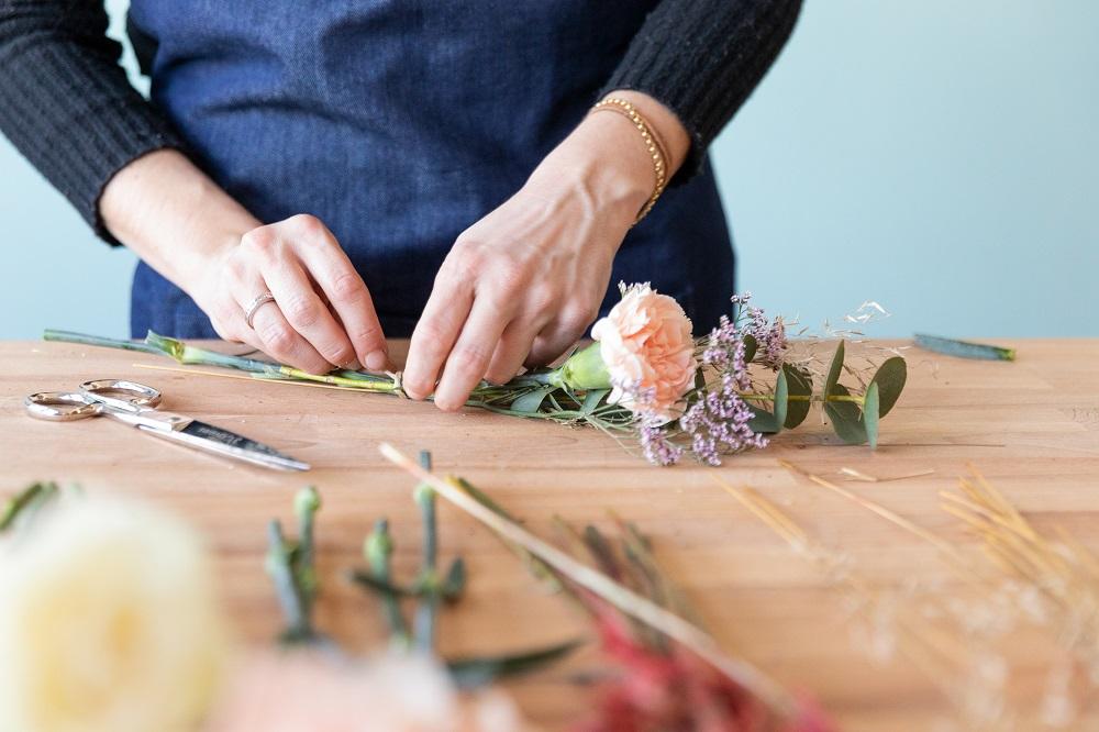 tutorial con i fiori passo 4
