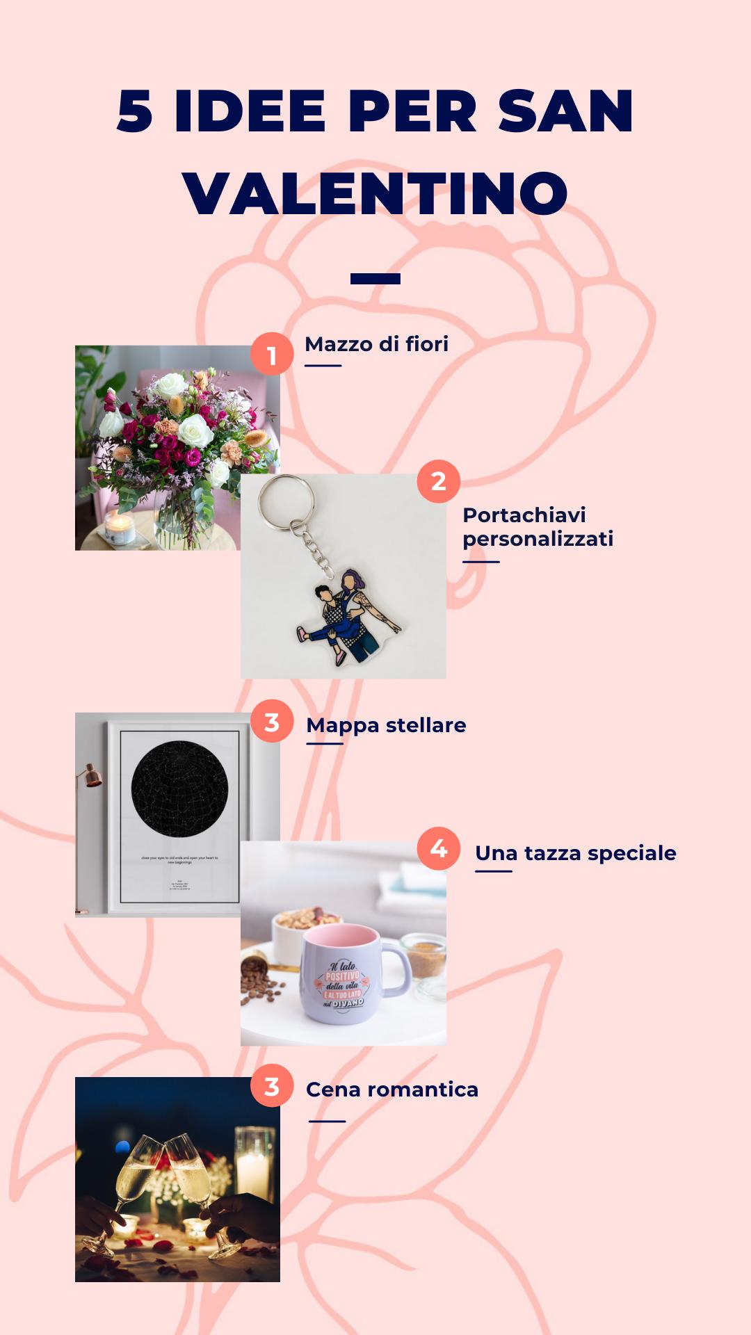 5 idee per san valentino