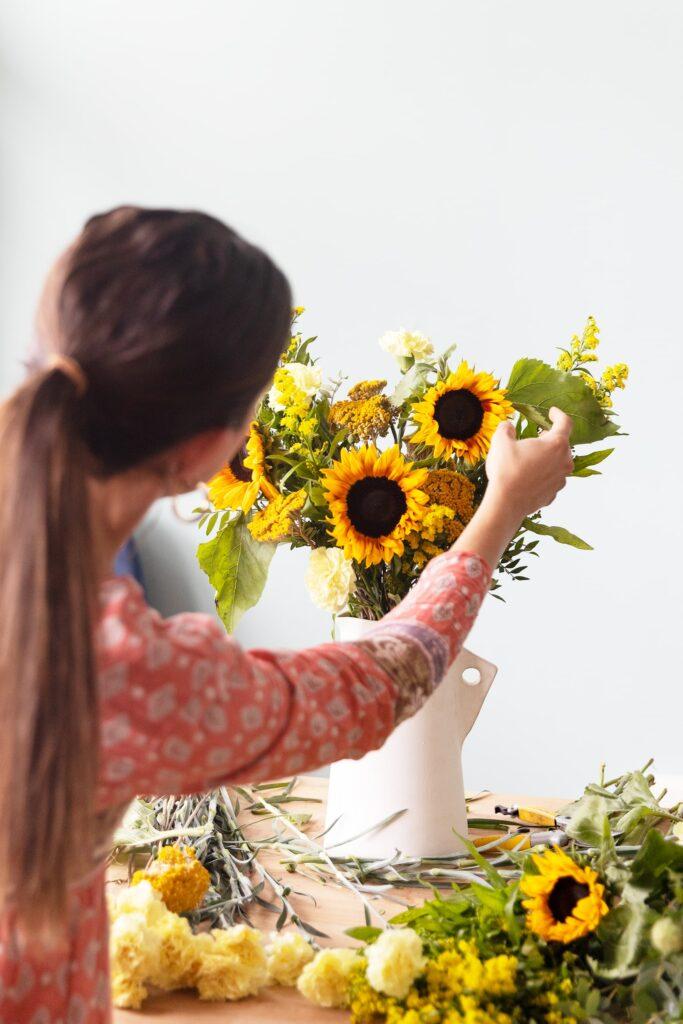 Un bouquet di fiori creato per celebrare il segno del Leone? Sì, esiste!