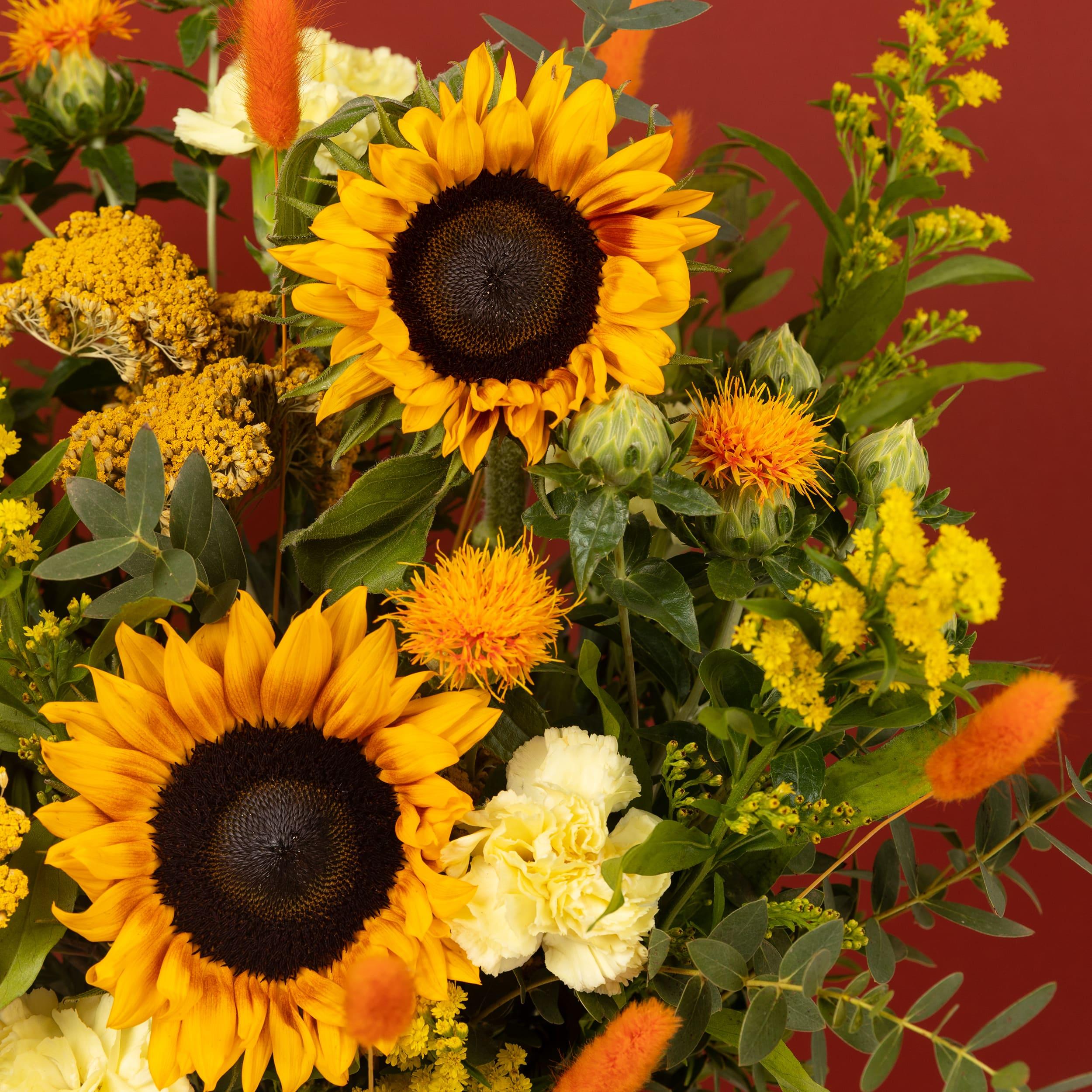 bouquet di fiori leo