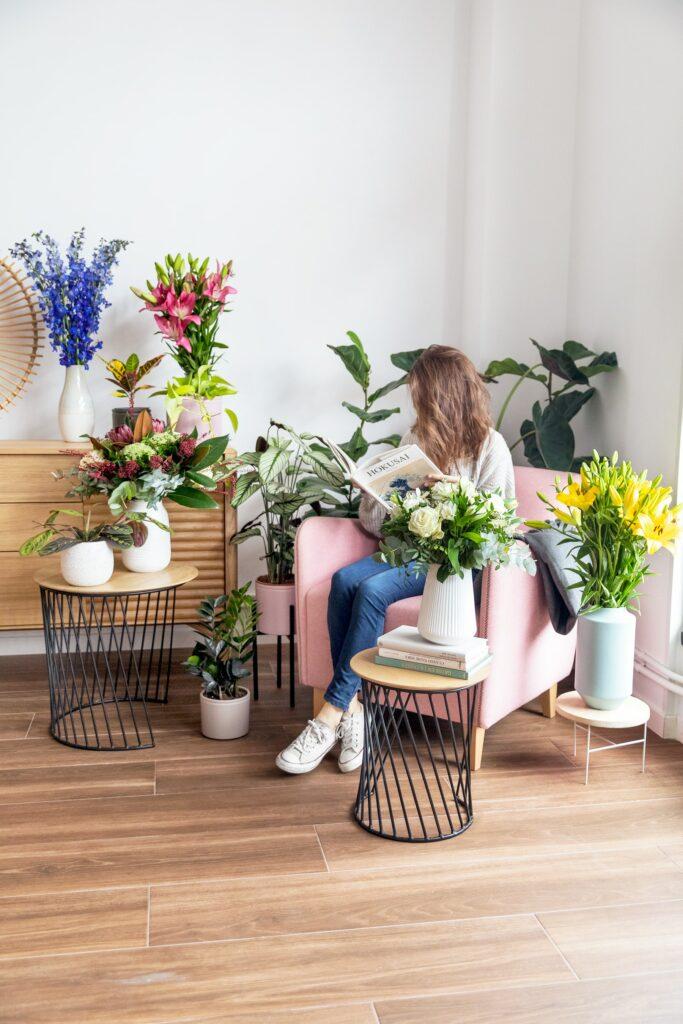 Scegli il tipo di vaso perfetto a seconda del tuo mazzo di fiori