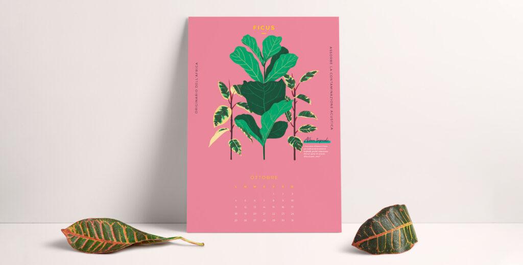La magia e i mille colori dell'autunno arrivano con il mese di ottobre e il nostro calendario da stampare gratis