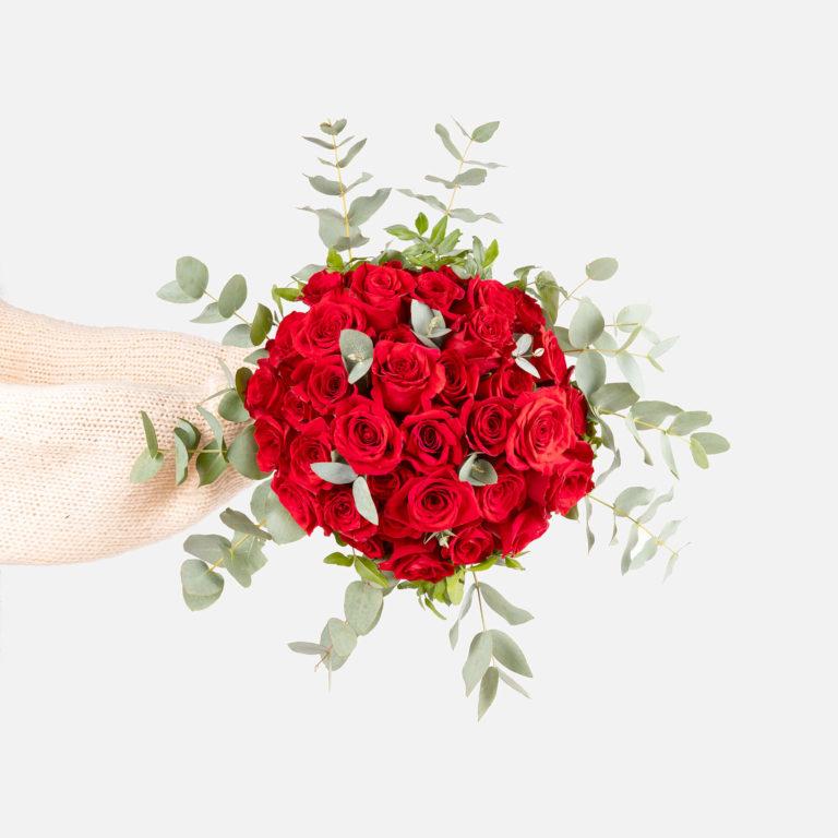 Composizione di fiori dell'amore