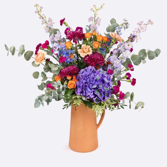 bouquet di ortensie