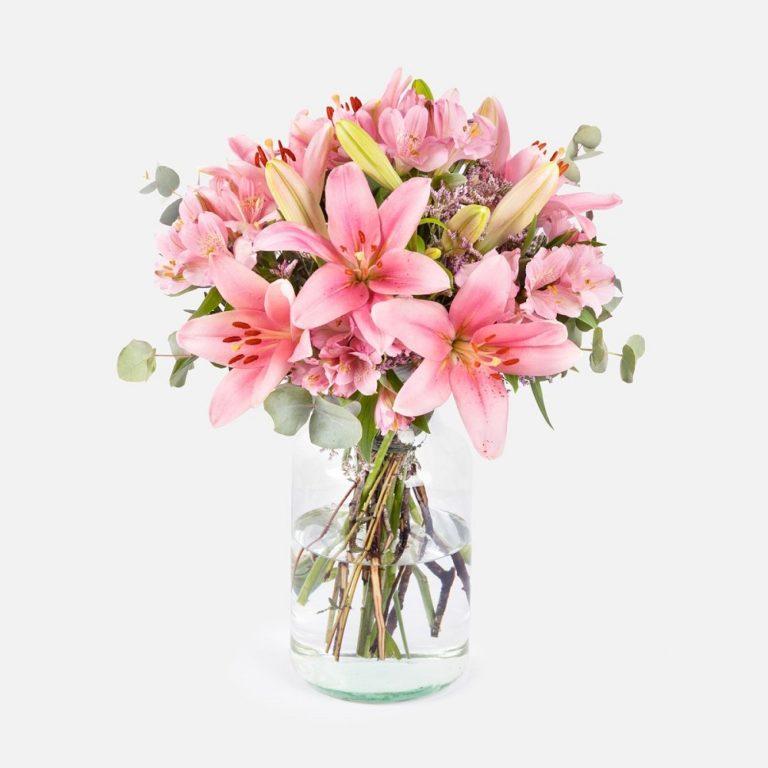 flores para empresas rosas