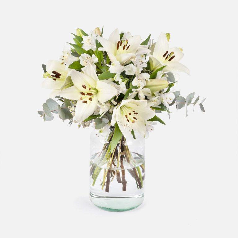 flores para empresas blancas