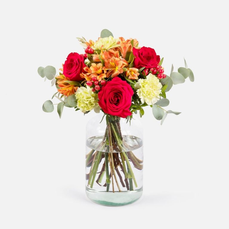 flores para empresas rojas