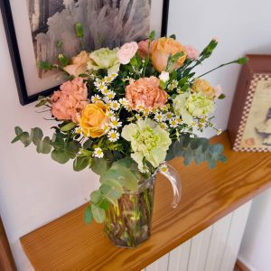 Arranjo floral para a casa